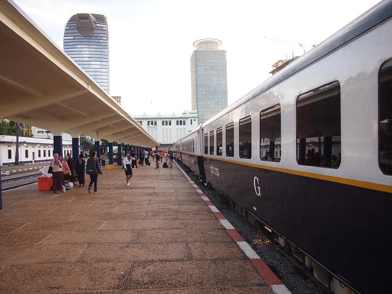 Train at Phnom Penh Railway Station