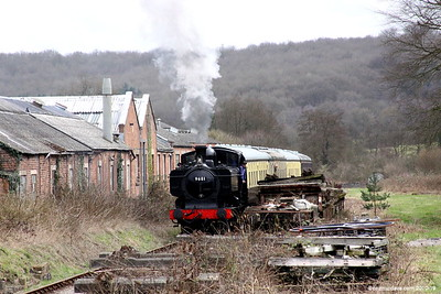 Arriving at Whitecroft Station 001