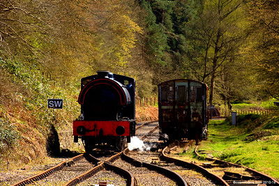 'All change' at Parkend Station 002