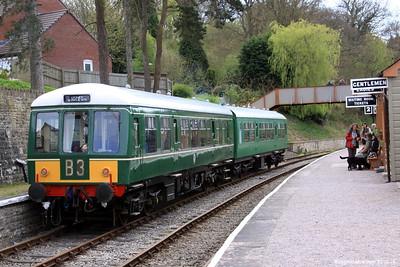 Trains at Parkend Station 002 (April 2010)