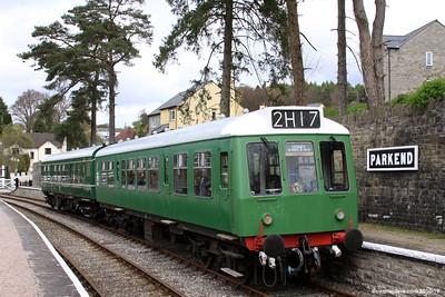Trains at Parkend Station 003 (April 2010)
