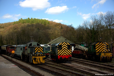 Trains at Norchard Station 003