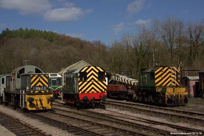 Trains at Norchard Station 001