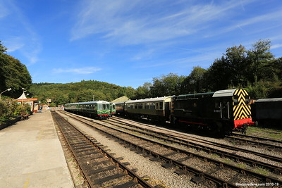 Trains at Norchard Station 004