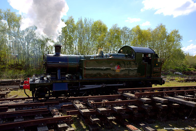 The 5541 at Lydney Junction 001