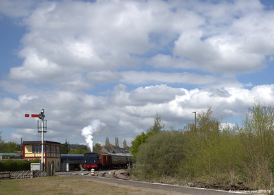Wilbert leaving Lydney Junction 001