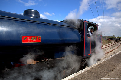 Wilbert arriving at Lydney Junction