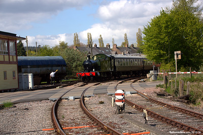 The 5541 arriving at Lydney Junction