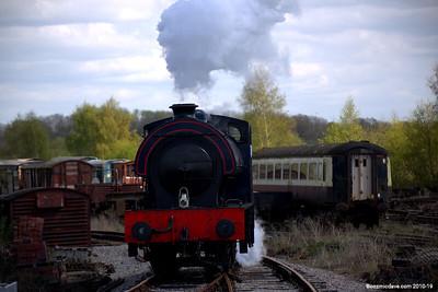 Wilbert at Lydney Junction 004