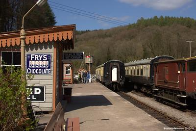 Trains at Norchard Station 008