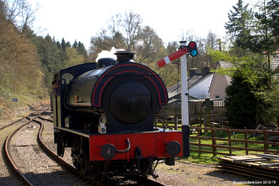 Wilbert at Parkend Station 005