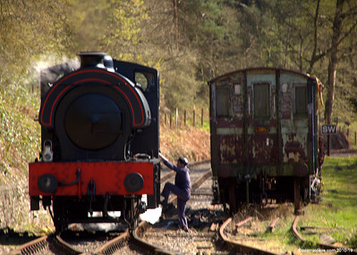 Wilbert at Parkend Station 007