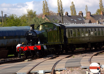 The 5541 arriving at Lydney Junction 005