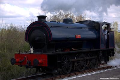 Wilbert at Lydney Junction 005 (April 2014)