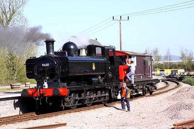 9681 at Lydney Junction 005 (April 2014)