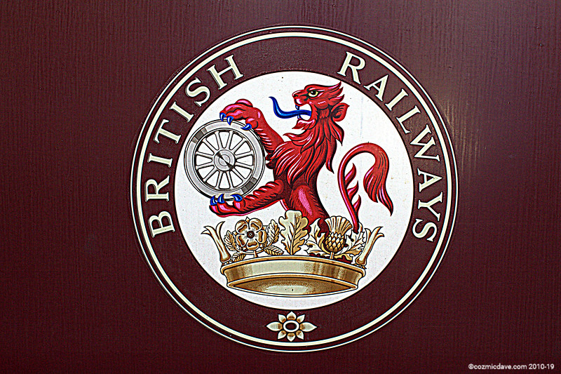Sign from Railway Carriage 001