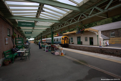 Train Station (more photo's here http://www.cozmicdave.com/organize/Transport/Steam-Trains/Okehampton-Train-Station )