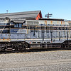 B&O GP-7 No 6607, Baltimore & Ohio Railroad Museum, 901 West Pratt Street, Baltimore, MD