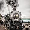 Western Maryland Scenic Railroad Baldwin 2-8-0 No 734, Cumberland Maryland