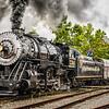 Western Maryland Scenic Railroad Baldwin 2-8-0 No 734, Cumberland, Maryland