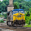 CSX GE AC6000CW Locomotive No 5001, Ronceverte, West Virginia