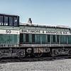 Baltimore & Annapolis GE 70-tonner No 50, Baltimore & Ohio Railroad Museum, 901 West Pratt Street, Baltimore, MD