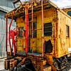 Union Pacific Caboose, Grapevine Vintage Railroad, Grapevine, Texas
