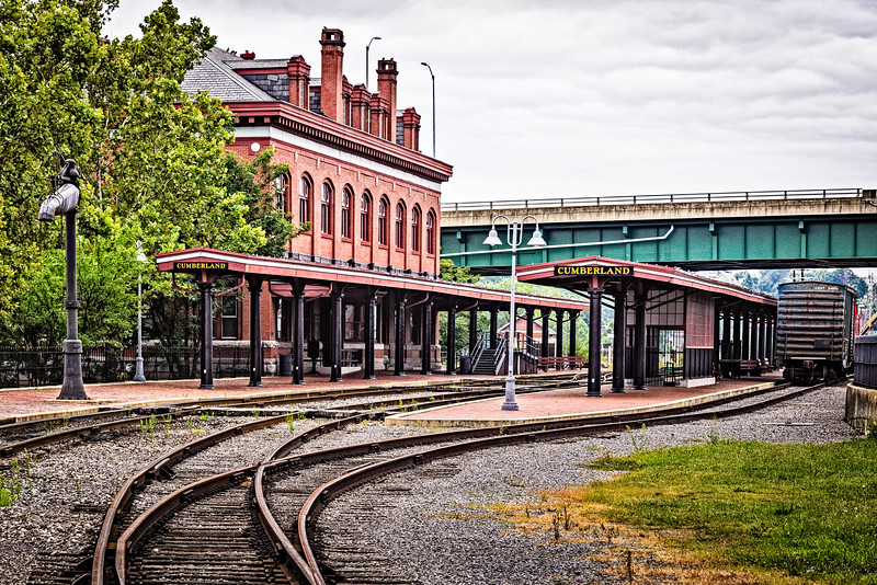 Western Maryland Scenic Railroad Depot, Cumberland, Maryland