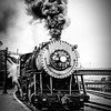 Western Maryland Scenic Railroad Baldwin 2-8-0 No 734, Cumberland Maryland