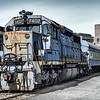 B&O SD-35 No 7402, Baltimore & Ohio Railroad Museum, 901 West Pratt Street, Baltimore, MD