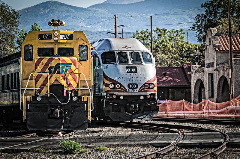 Santa Fe Train Depot