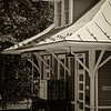 Restored 1910 Train Depot, Montpelier Station, Orange County, Virginia