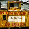Union Pacific Caboose, Grapevine Vintage Railroad, Grapevine, Texas