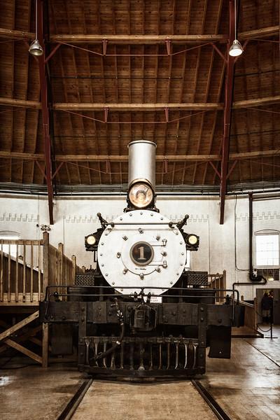 Clinchfield No 1, Baltimore & Ohio Railroad Museum, 901 West Pratt Street, Baltimore