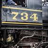 Steam Engine Driver, Western Maryland Scenic Railroad, Cumberland, Maryland