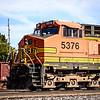 BNSF GE C44-9W # 5376, Springfield, Missouri