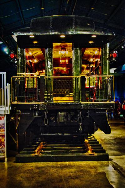 Wisconsin Rail Car, Circus Museum, Ringling Museum, Sarasota, Florida