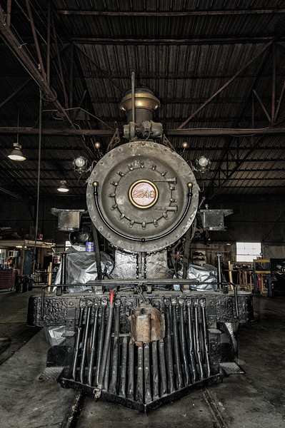 Puffy, 1896 Cooke Locomotive Works built 4-6-0, Grapevine Vintage Railroad