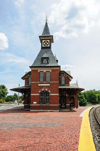 Point Of Rocks Railroad Station, Point of Rocks, Maryland
