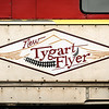 The New Tygart Flyer Excursion Train, Elkins, West Virginia