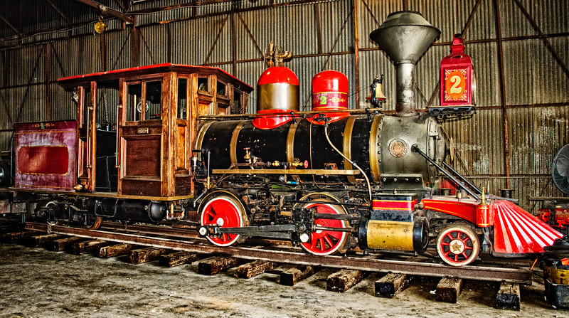 1920 2-4-4 built by Vulcan Iron Works in Wilkes-Barre PA, Grapevine Vintage Railroad, Grapevine, Texas