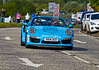 Porsche 911 at the Gumball 3000 Rally near Prestwick - 8 June 2014