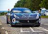 Ferrari F12 at the Gumball 3000 Rally near Prestwick - 8 June 2014
