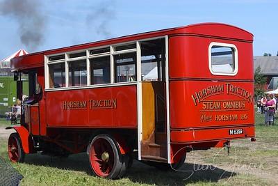 Transport; Steam Car; Damp biler;