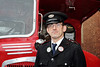 One of the Many Volunteer Bus Drivers at Glasgow Vintage Vehicle Trust's Open Day