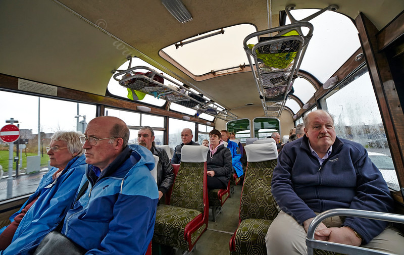 Fellow Passengers on the MacBrayne Vintage Bus - 5 April 2014