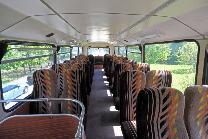 Upstairs on Eastern Scottish Double Decker Bus - George Square, Glasgow - 26 May 2012