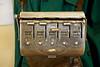Vintage Bus Ticket Machine - Bridgeton Bus Garage - 14 October 2012