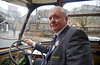 Martin at the Wheel of his MacBrayne Vintage Bus - 5 April 2014