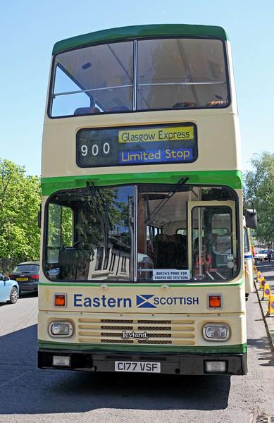 Eastern Scottish Double Decker Bus - Glasgow - 26 May 2012